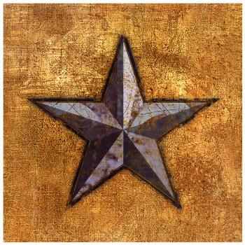 Texas Western Star Ceramic Trivet, Set of 2