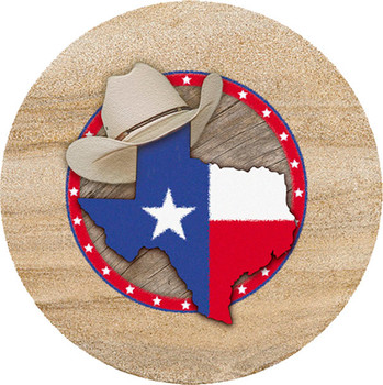 Texas Sandstone Trivet, Set of 2