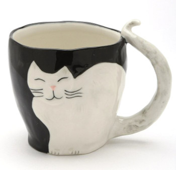 Himalayan Cat Coffee Mugs, Set of 4