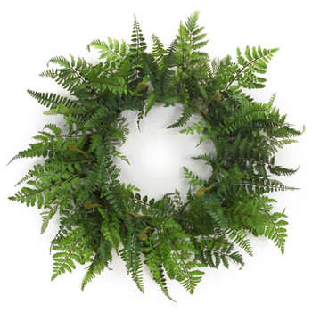 "24"" Fern Silk Wreath"