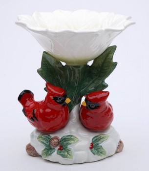 Cardinal Birds Candy Dish