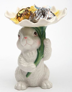 Bunny Rabbit Candy Dish Holder