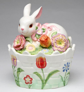 Bunny Rabbit Candy Dishes, Set of 2
