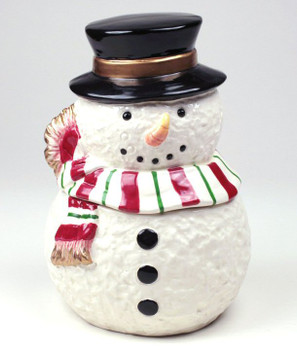 Snowman Candy Jars, Set of 2
