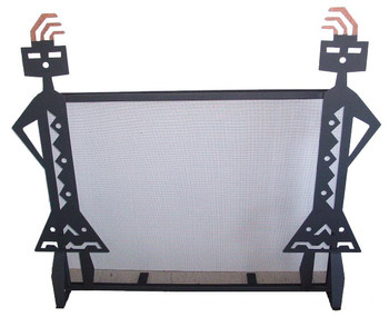 Yei'i Metal Fireplace Screen