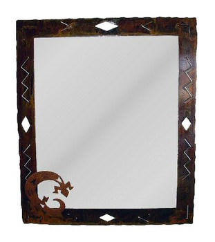 Large Choice Wildlife Diamond Metal Wall Mirror, 66 Designs