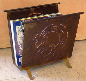 Western Ranch House Metal Magazine Rack, 66 Designs