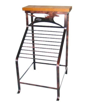 Choice Western Vertical Metal Magazine Rack, 66 Designs
