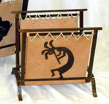 Small Choice Western Metal Magazine Rack, 66 Designs