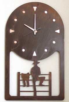 Choice Wildlife Metal Wall Clock, 66 Designs