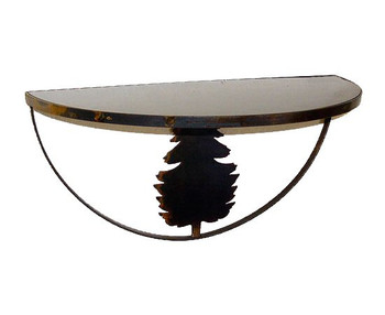 Choice Wildlife Half Round Wall Shelf, 66 Designs