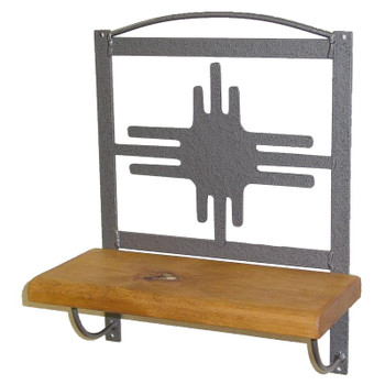 "12"" Choice Southwest Wood Wall Shelf, 66 Designs"