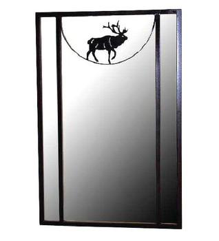 Oracle Elk Metal Wall Mirror Vertical