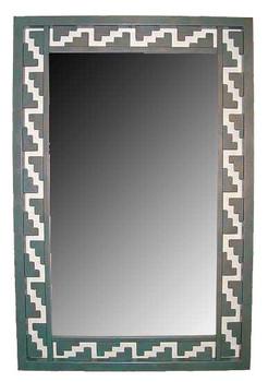 Zapotec Metal Wall Mirror