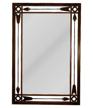Arrow Metal Wall Mirror