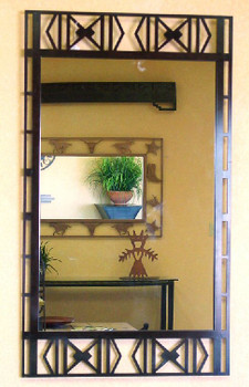 Sabino Metal Wall Mirror