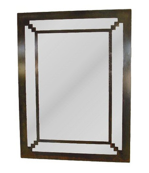 Alto Metal Wall Mirror