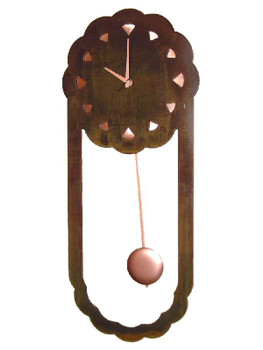 Bonita Pendulum Metal Wall Clock