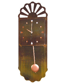 Casita Pendulum Metal Wall Clock