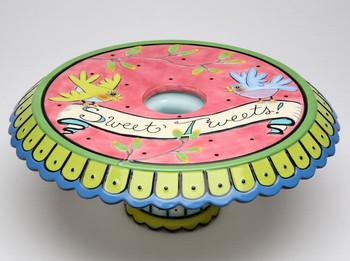 Birdcage Ceramic Cake Stand or Vase