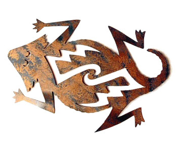 Mom Horny Toad Metal Wall Art