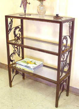 "36"" Petroglyph Metal Storage Shelves"