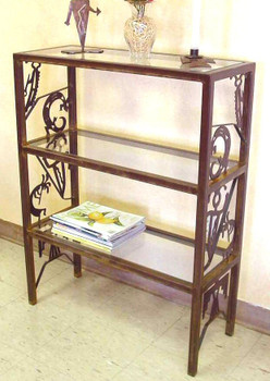 "30"" Petroglyph Metal Storage Shelves"