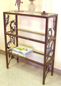 "24"" Petroglyph Metal Storage Shelves"