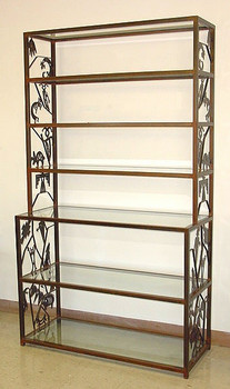 Petroglyph Bakers Rack with Glass Shelves