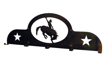 Rodeo 5 Hook Metal Coat Rack