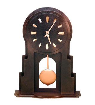 Adobe Metal Table Clock