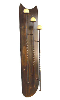 Chapala Wall Metal Candle Holder Sconce