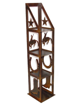 Rodeo Metal CD Rack