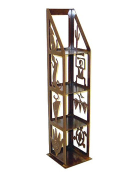 Petroglyph Metal CD Rack