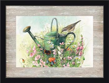 Souvenirs Gardening Scene Framed Art Print Wall Art
