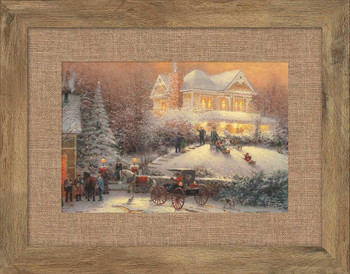 Victorian Christmas II Framed Art Print Wall Art