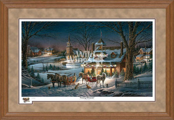 Evening Rehearsal Limited Edition Oak Framed Art Print Wall Art