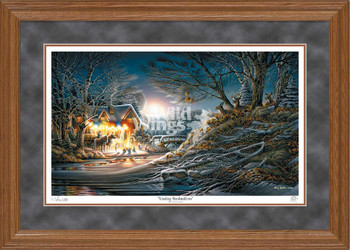 Toasting Marshmallows Limited Edition Oak Framed Art Print Wall Art