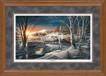 Almost Home Limited Edition Oak Framed Art Print Wall Art