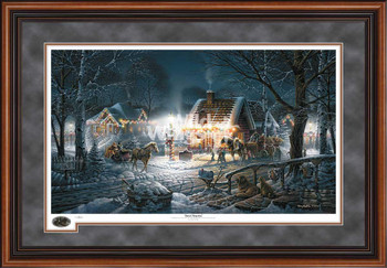 Sweet Memories Limited Edition Walnut Framed Art Print Wall Art