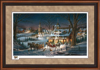 Evening Rehearsal Limited Edition Walnut Framed Art Print Wall Art