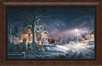 Winter Wonderland Framed Art Print Wall Art