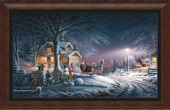 Winter Wonderland Framed Art Print Wall Art