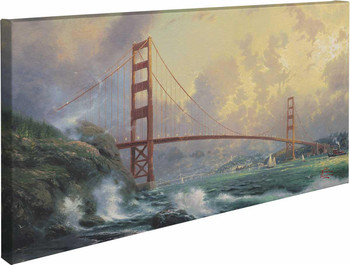 San Francisco Golden Gate Bridge Wrapped Canvas Giclee Art Print Wall Art