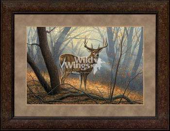 In His Prime Whitetail Deer Conservation Framed Limited Edition Art Print Wall Art