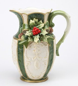 Holly Porcelain Pitcher