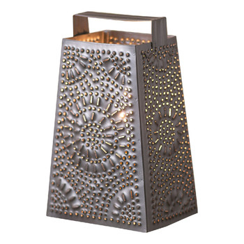 Smokey Black Cheese Grater Electric Accent Light