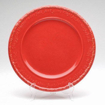Red Farm Blessing Tractor Dinner Plates, Set of 4