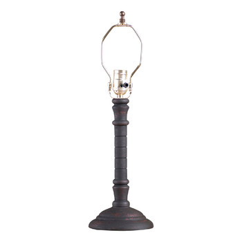 Hartford Black over Red Gatlin Table Lamp Base