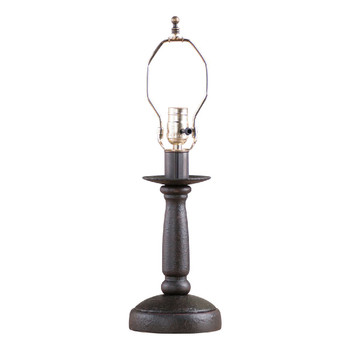 Americana Black Butcher's Table Lamp Base